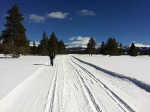 cross country skiing in leadville colorado