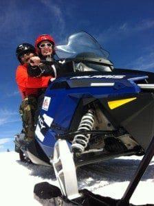 snowmobiling in leadville colorado