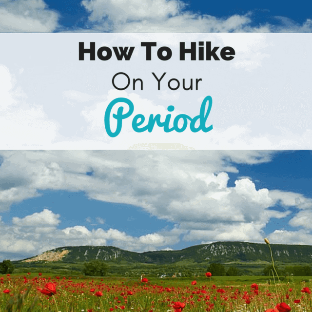 having your period on the trail