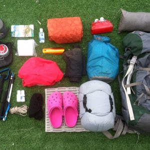 Multi Day Backpacking Gear List
