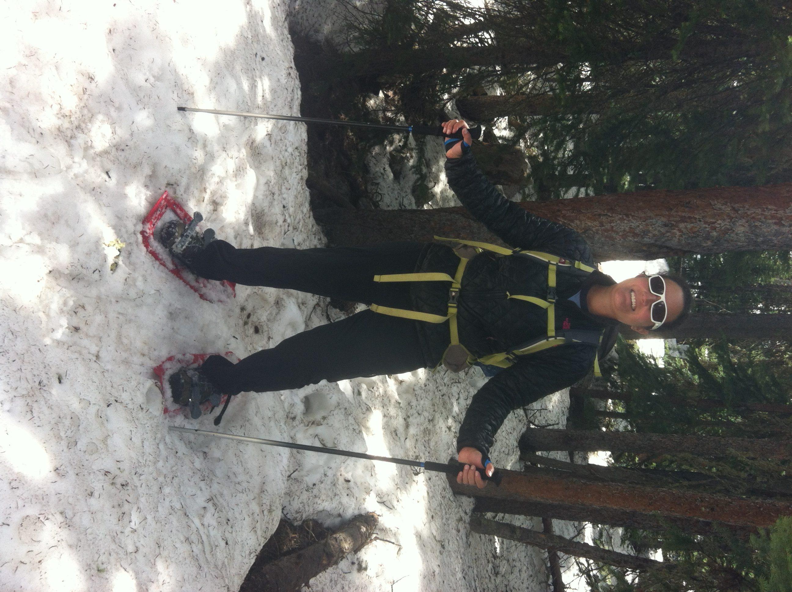 Snowshoeing Near Buena Vista, CO
