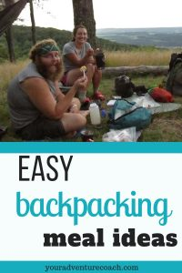 easy backpacking meal ideas