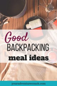 good backpacking meal ideas