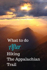Anxious about what happens after an epic hike? Read on.