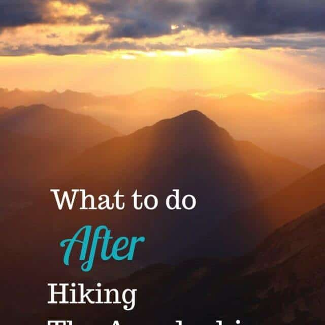Not sure what to do after a thru hike? Read on.