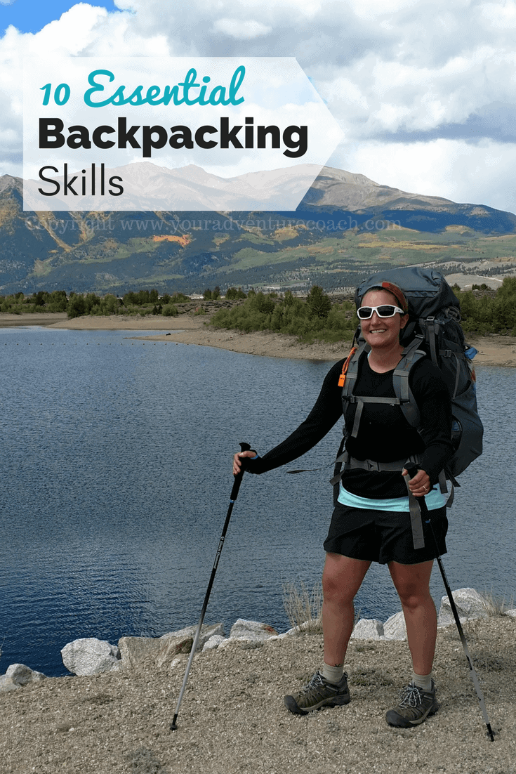 essential backpacking skills