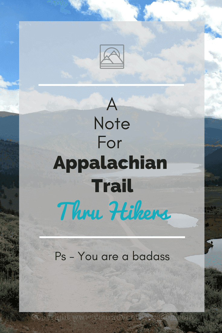 appalachian trail thru hikers