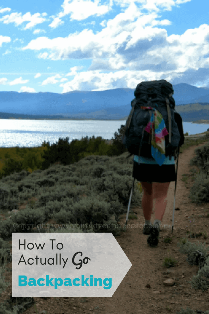 how to go backpacking