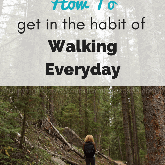 habit of walking everyday for exercise