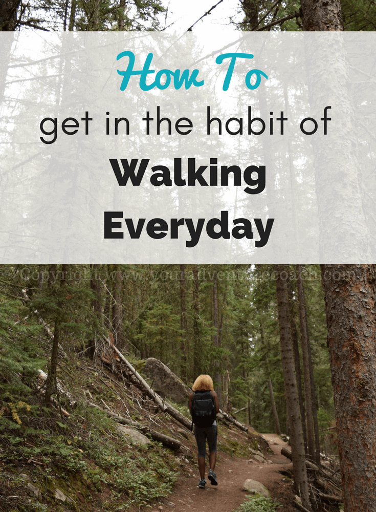 Create a walking exercise routine to prepare for hiking the AT