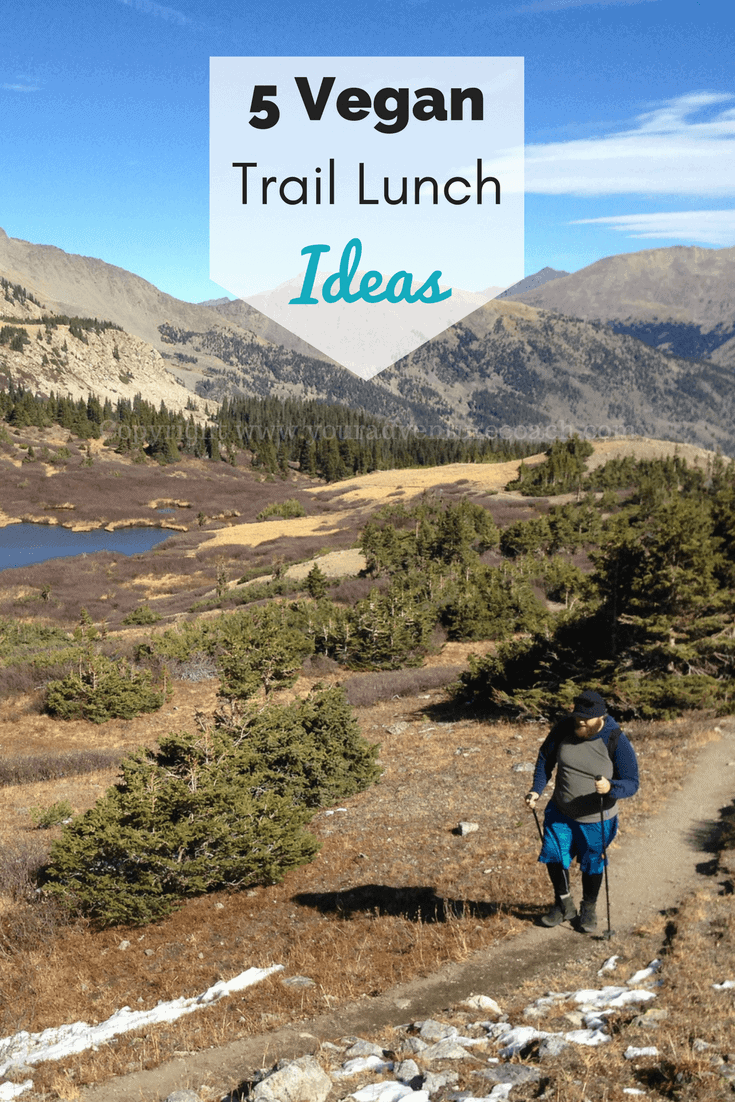vegan backpacking lunches