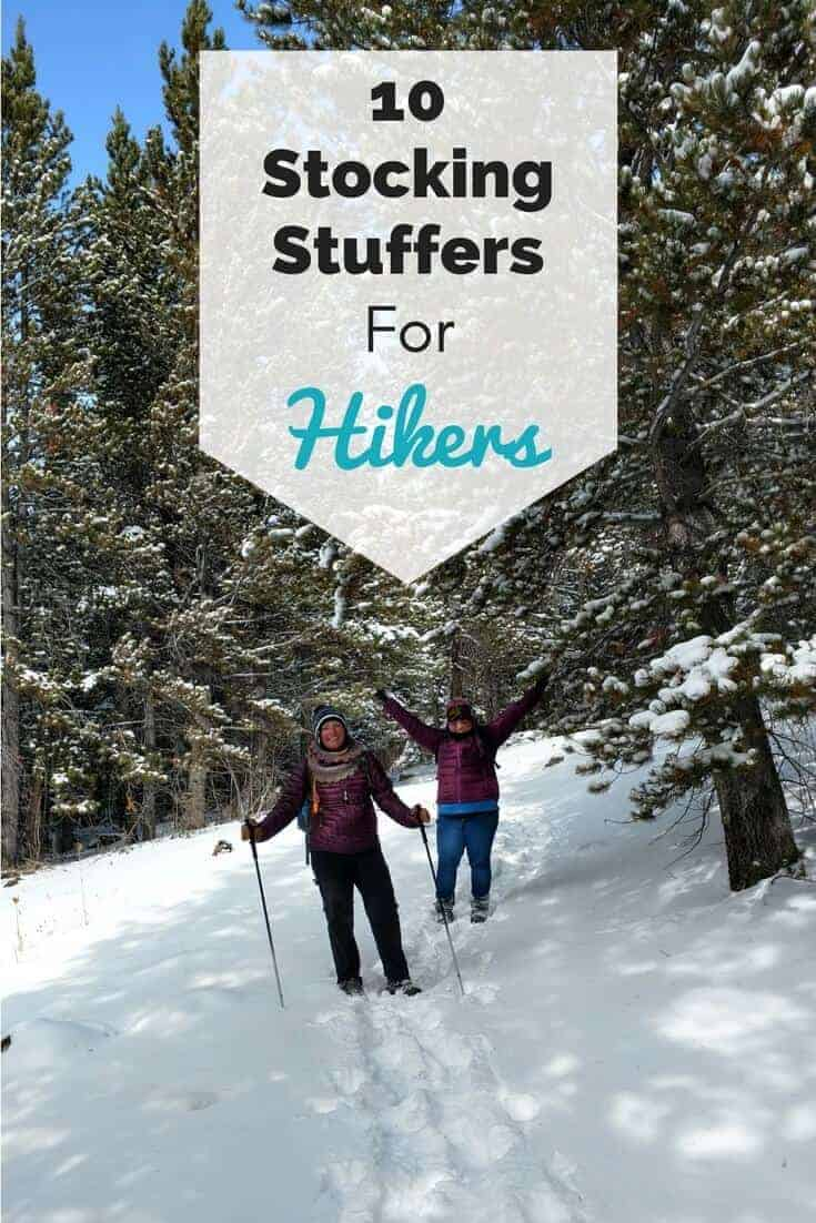 stocking stuffers and gift ideas for hikers