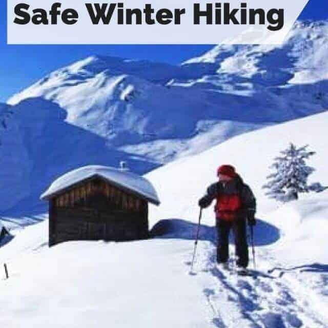 safe winter hiking tips