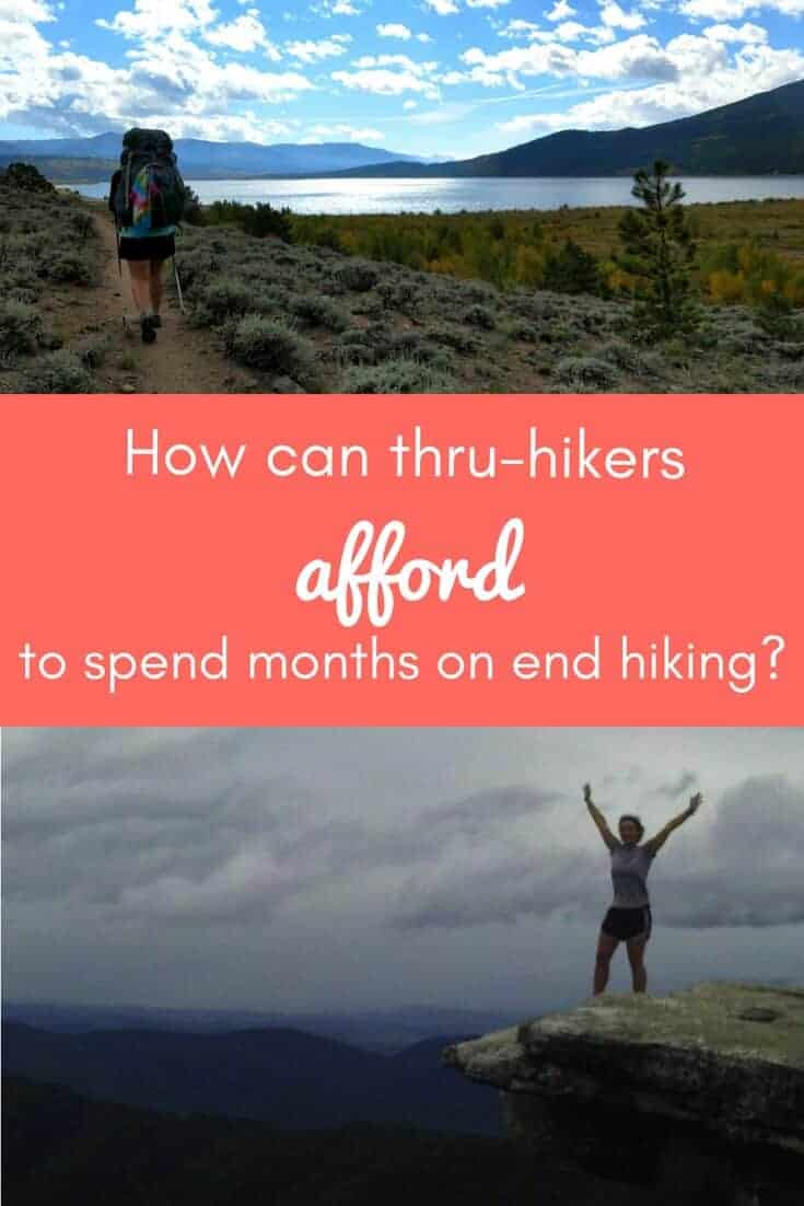cost of hiking the appalachian trail