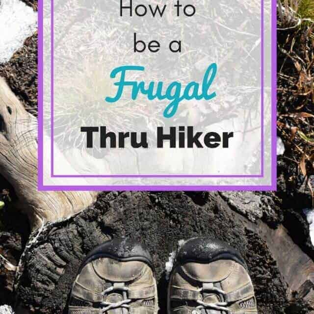 how to save money during your thru hike