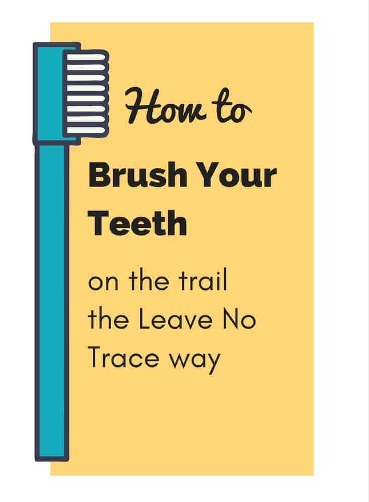 How to broadcast your toothpaste waste