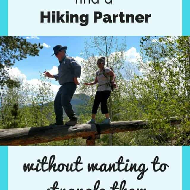 how to find a hiking partner