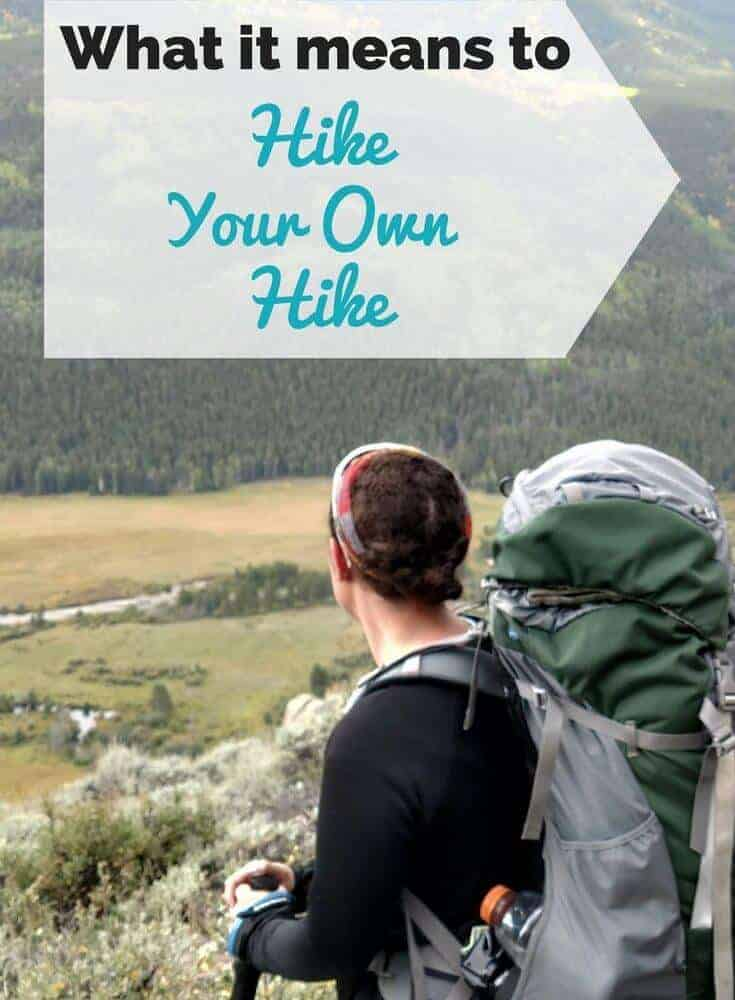 Putting a positive spin on Hike Your Own Hike