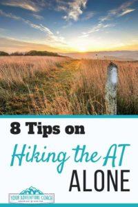 hiking the appalachian trail alone