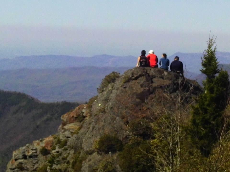 Hiker on the appalachian trail who got giardia