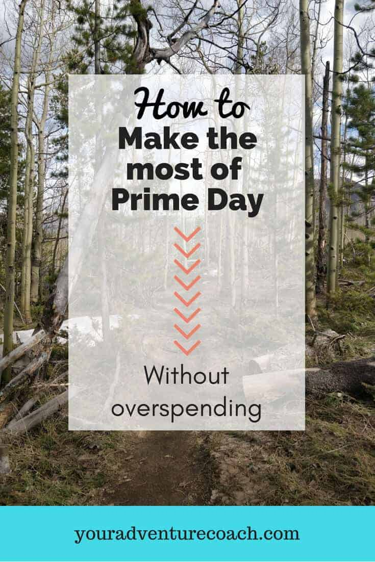 make the most of prime day