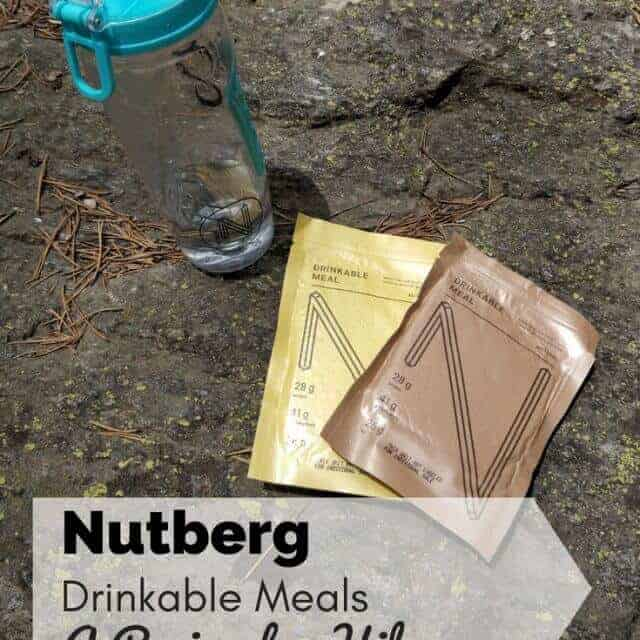 nutberg meal review for backpackers and hikers