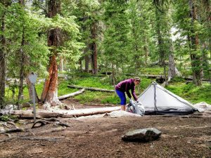 Waterproof tents and materials