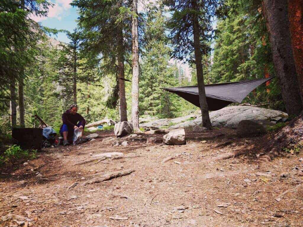 Upper East Inlet Campsite