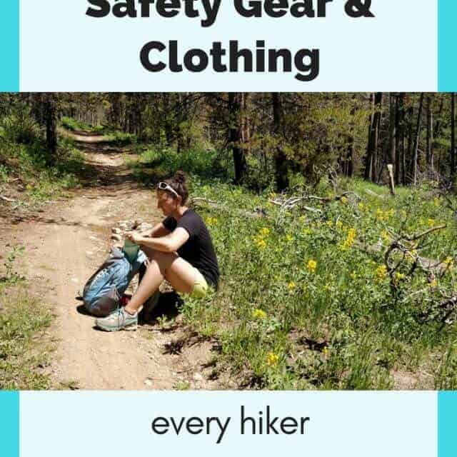 essential gear and clothing