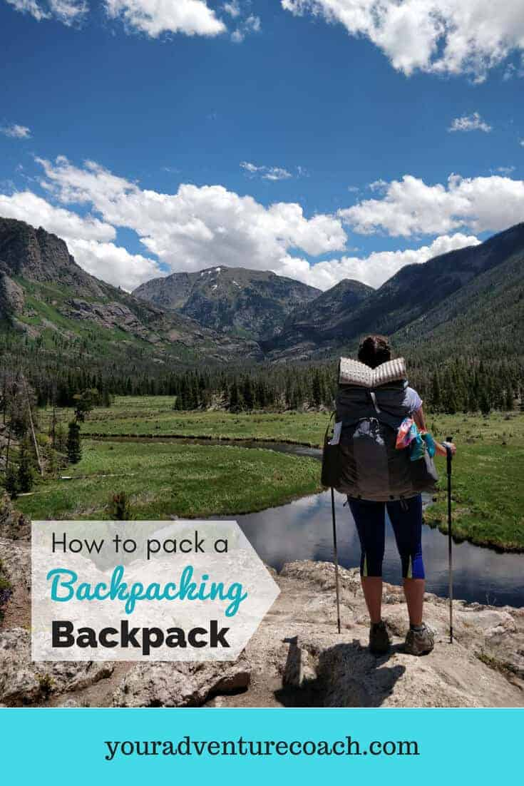 how to pack a backpacking backpack