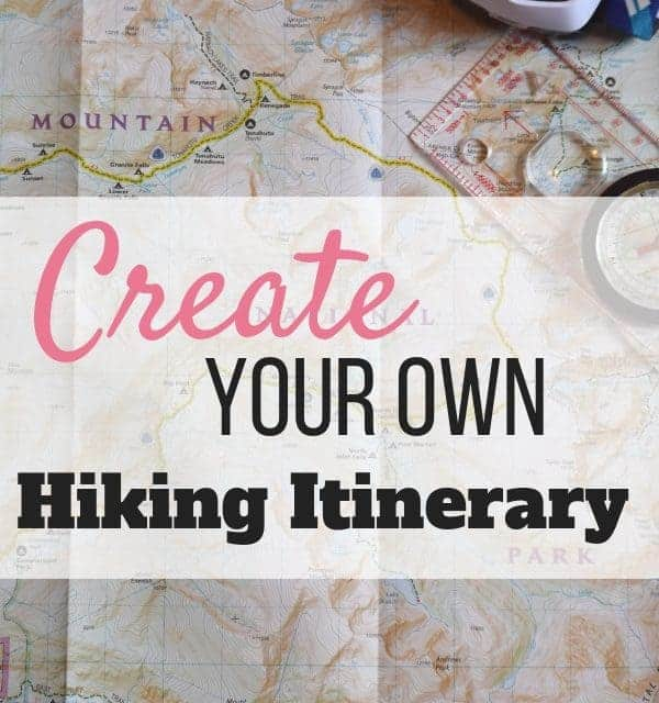 What to include in your hiking itinerary