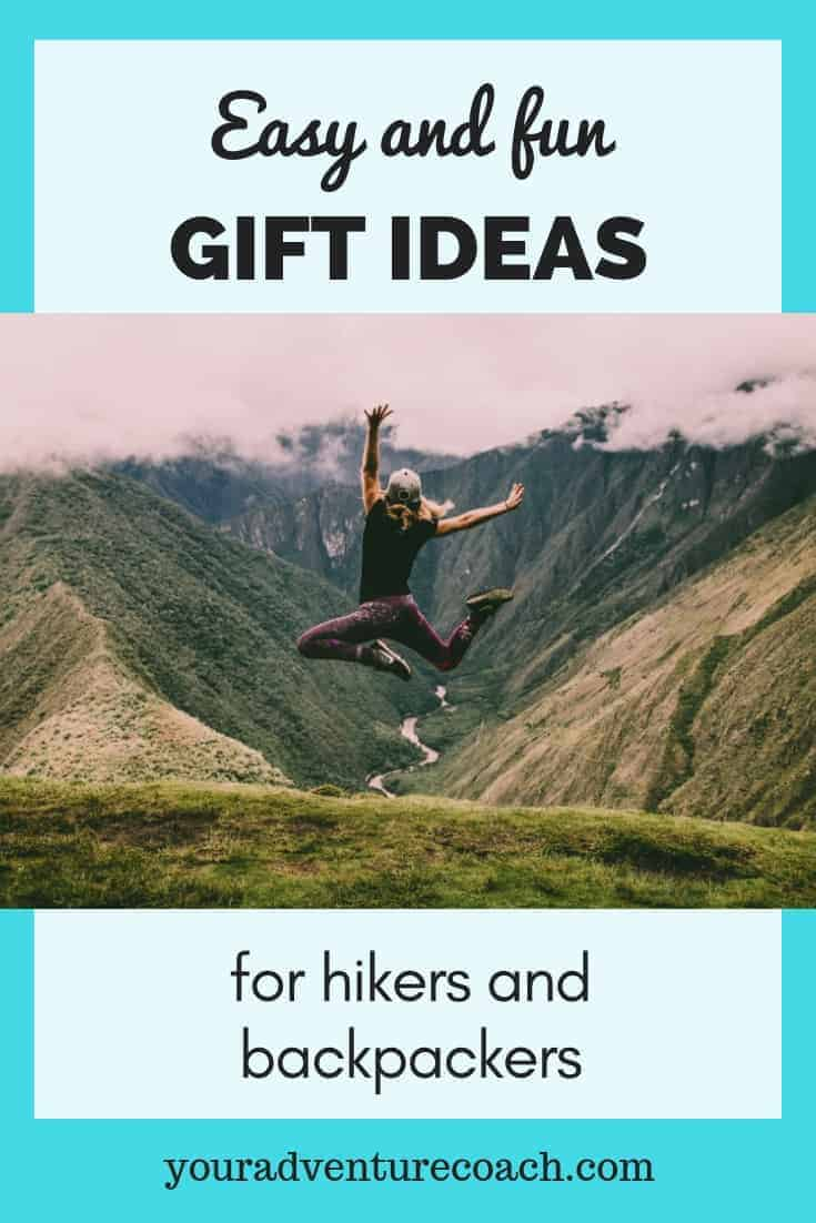 easy gift ideas for hikers and backpackers