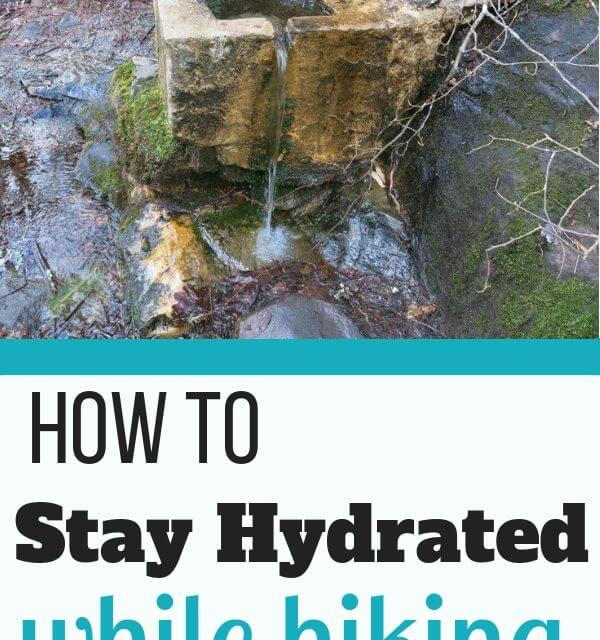 Tips for staying hydrated on the trail