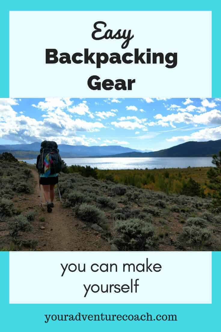 make your gear for backpacking