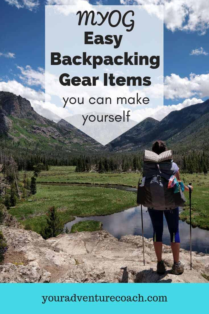 make your own backpacking gear