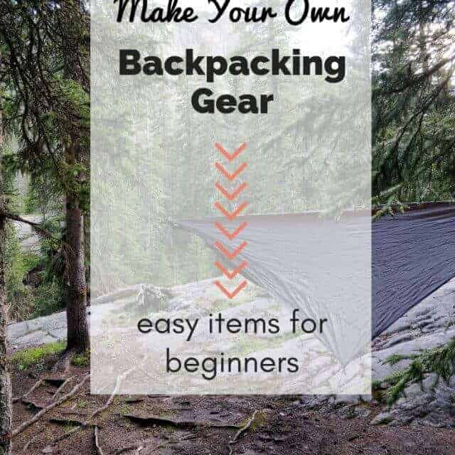 make your own backpacking tarp