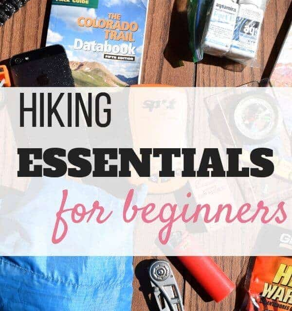 bare hiking essentials for beginners