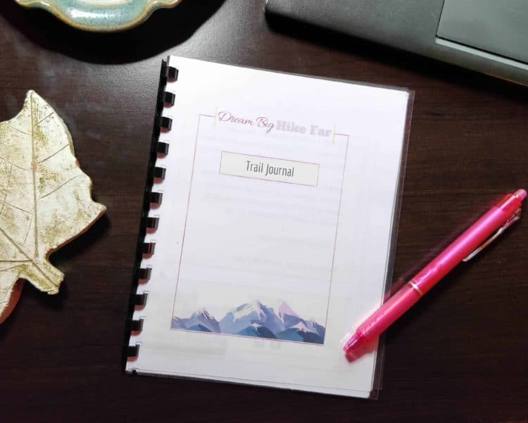 Trail Journal for 52 Hike Challenge