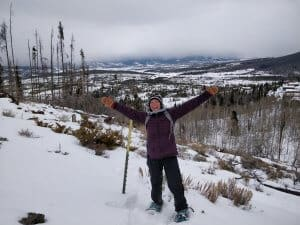 Snowshoeing pants and clothing | What to wear snowshoeing