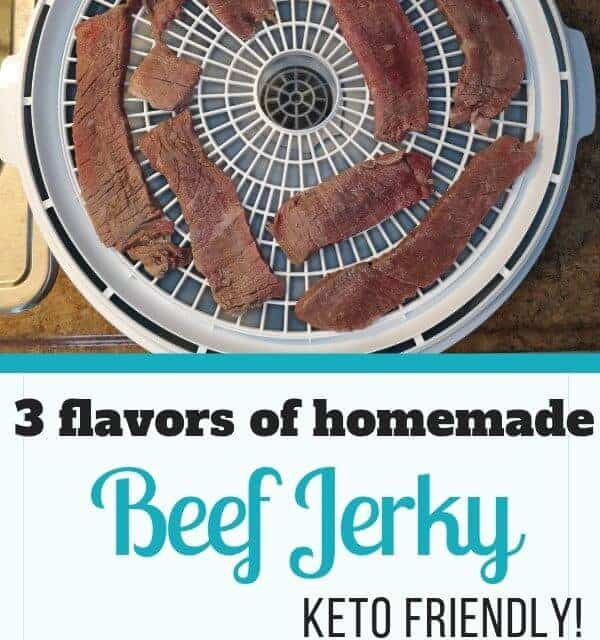 Try these 3 flavors of homemade keto beef jerky for your next hike | Keto friendly beef jerky | Keto hiking snacks