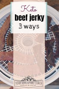 Make your own keto friendly beef jerky with these 3 recipes   Keto beef jerky   Keto hiking snacks