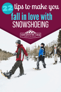 snowshoeing tips for beginners