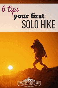solo hiking tips