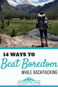 things to do while backpacking alone