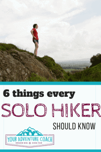 tips for hiking solo