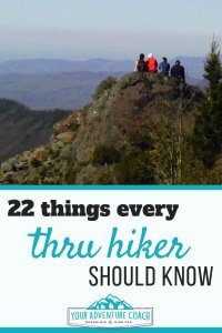 22 tips to thru hike the Appalachian Trail