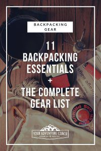 Best Backpacking gear checklist
