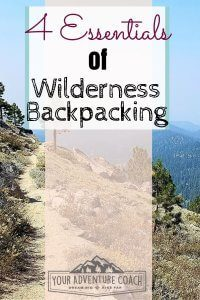 Wilderness Backpacking