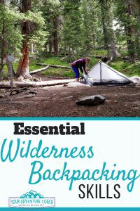 Wilderness Backpacking gear