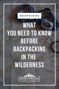 Wilderness Backpacking tips